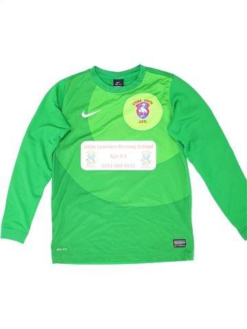 Camiseta deportivas unisex NIKE verde 13 años invierno #1340130_1