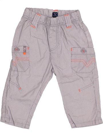 Pantalón niño TERRE DE MARINS gris 9 meses verano #1340178_1