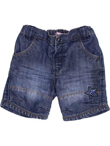 Short - Bermuda garçon DPAM bleu 12 mois été #1340183_1