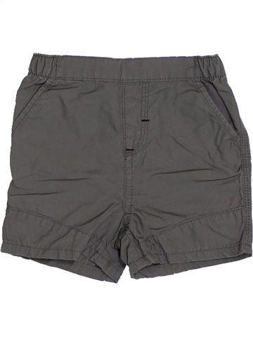 Short - Bermuda garçon KIABI gris 6 mois été #1340242_1