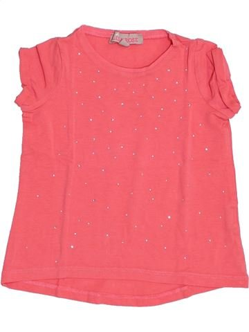 Camiseta de manga corta niña LISA ROSE rosa 2 años verano #1340788_1
