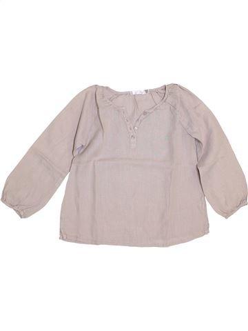 Blusa de manga larga niña CFK beige 5 años verano #1340861_1