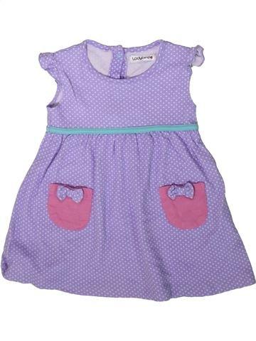 Vestido niña LADYBIRD violeta 9 meses verano #1341001_1