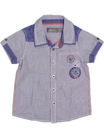 Chemise manches courtes garçon ORCHESTRA bleu 2 ans été #1341506_1