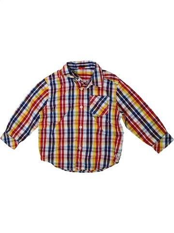 Chemise manches longues garçon S.OLIVER rose 3 ans hiver #1341548_1