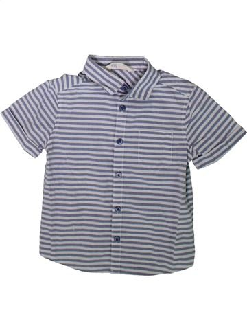 Camisa de manga corta niño H&M gris 2 años verano #1341570_1