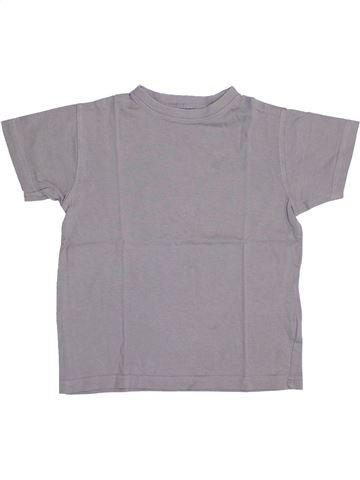 Camiseta de manga corta niño TOUT COMPTE FAIT gris 4 años verano #1341982_1