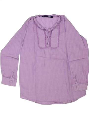 Blouse manches longues fille LE PHARE DE LA BALEINE violet 5 ans hiver #1341991_1