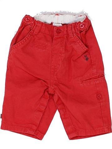 Pantalón niño OBAIBI rojo 3 meses verano #1343020_1