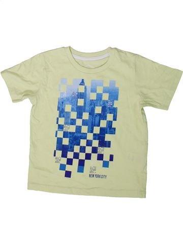 T-shirt manches courtes garçon BOYS vert 3 ans été #1343046_1