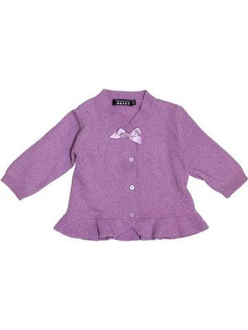 Gilet fille TOUT COMPTE FAIT violet 2 ans hiver #1343258_1
