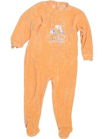 Pijama de 1 pieza niño GRAIN DE BLÉ naranja 2 años verano #1343566_1