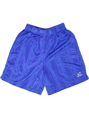 Pantalon corto deportivos niño SONDICO azul 12 años verano #1343748_1