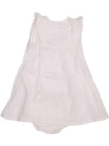 Robe fille BOUT'CHOU blanc 2 ans été #1344301_1
