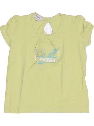 Camiseta de manga corta niña ALPHABET verde 4 años verano #1344444_1