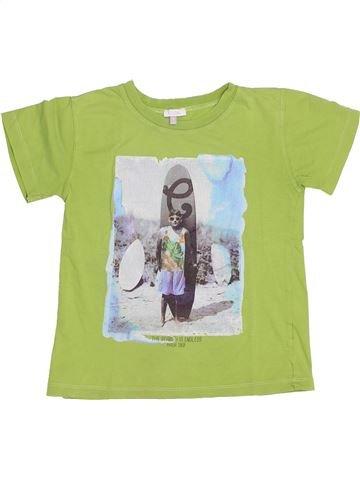 T-shirt manches courtes garçon ABSORBA vert 8 ans été #1344486_1