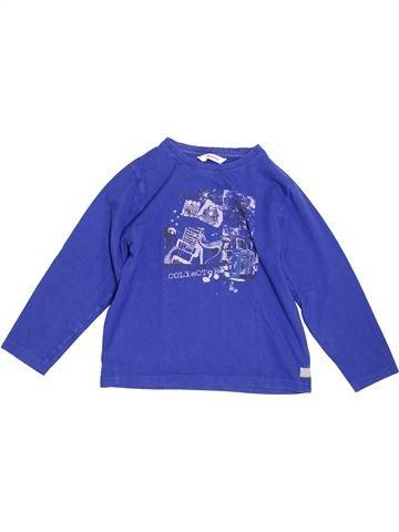 T-shirt manches longues garçon 3 POMMES bleu 8 ans hiver #1344488_1