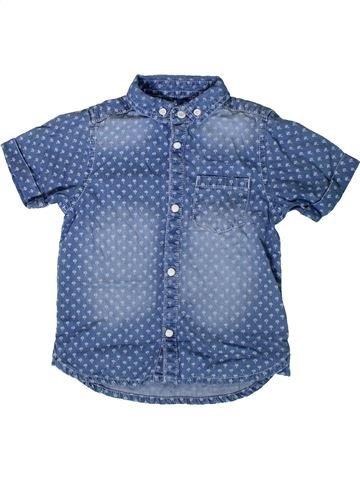 Camisa de manga corta niño MOTHERCARE azul 4 años verano #1344500_1