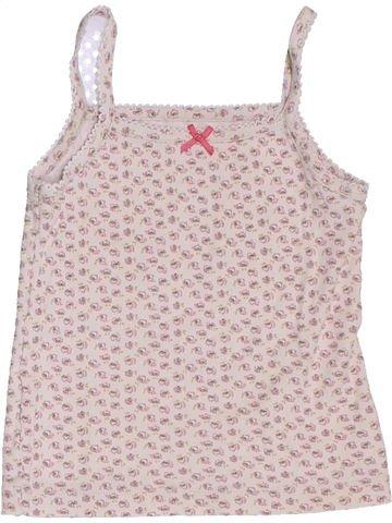 T-shirt sans manches fille CFK rose 3 ans été #1345028_1