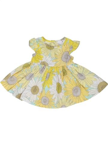 Vestido niña DEBENHAMS beige 3 meses verano #1345103_1
