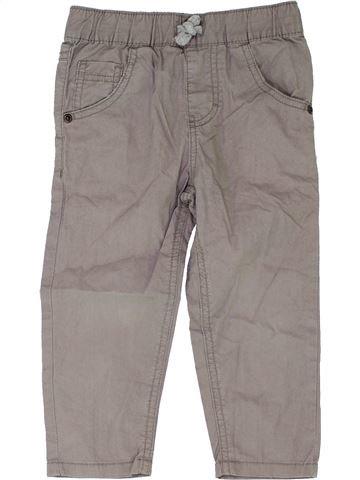 Pantalon garçon DEBENHAMS gris 2 ans été #1345200_1