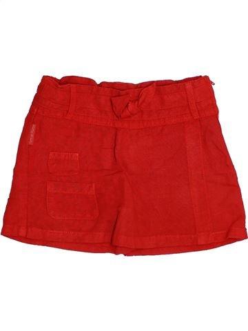 Short-Bermudas niña TERRE DE MARINS rojo 3 años verano #1345486_1
