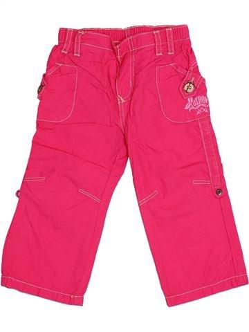 Pantalon fille OXBOW rose 12 mois été #1345715_1