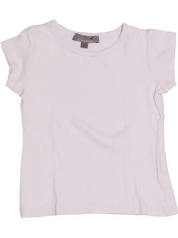 T-shirt manches courtes fille LISA ROSE blanc 3 ans été #1345924_1