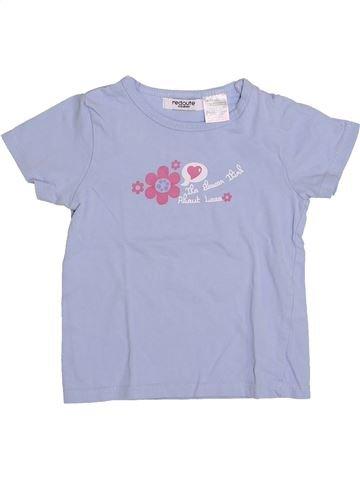 T-shirt manches courtes fille LA REDOUTE CRÉATION gris 3 ans été #1345940_1