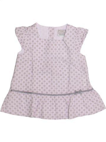Blusa de manga corta niña PREMAMAN blanco 12 meses verano #1345946_1