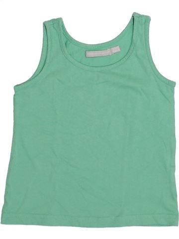 T-shirt sans manches fille 3 SUISSES vert 5 ans été #1345959_1