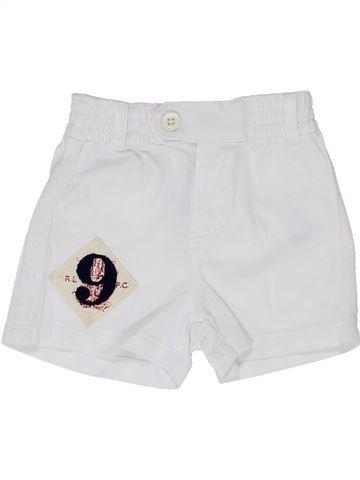 Short - Bermuda garçon RALPH LAUREN blanc 3 mois été #1346699_1
