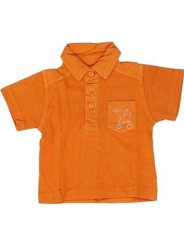 Polo de manga corta niño TOUT COMPTE FAIT naranja 3 meses verano #1346727_1