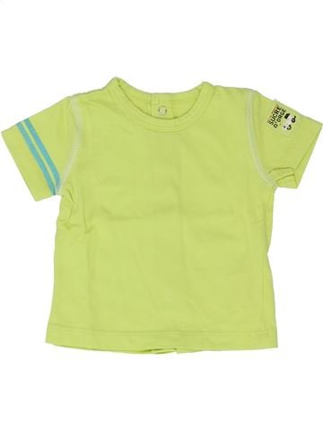 Camiseta de manga corta niño SUCRE D'ORGE verde 3 meses verano #1346735_1