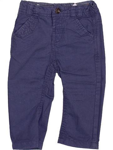 Pantalon garçon TAPE À L'OEIL bleu 6 mois été #1346891_1