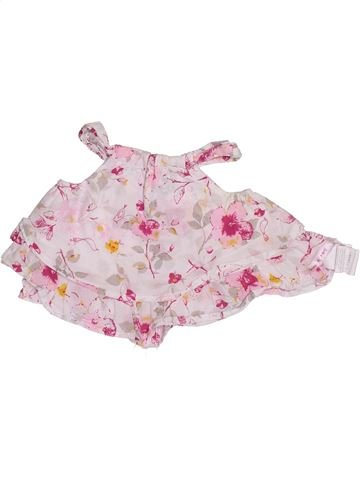 Blusa de manga corta niña SUCRE D'ORGE rosa 3 meses verano #1347420_1