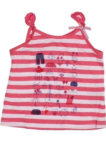 T-shirt sans manches fille LA COMPAGNIE DES PETITS rose 2 ans été #1347453_1
