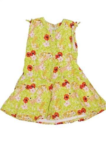 Robe fille KENZO jaune 3 ans été #1347476_1