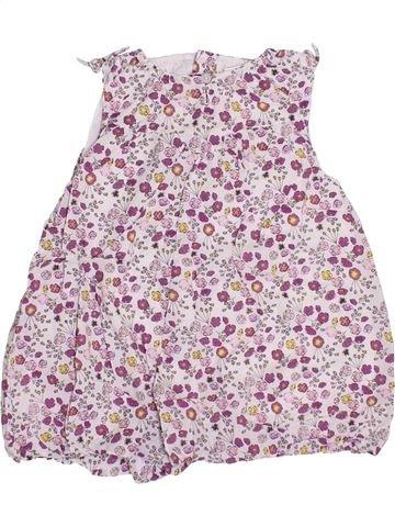 Robe fille OKAIDI rose 6 mois été #1347524_1