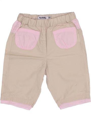 Pantalon fille TAPE À L'OEIL rose 3 mois été #1347528_1