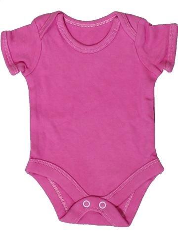 T-shirt manches courtes fille TU rose prématuré été #1348008_1