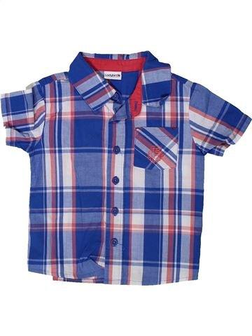 Chemise manches courtes garçon LADYBIRD bleu 2 ans été #1348104_1