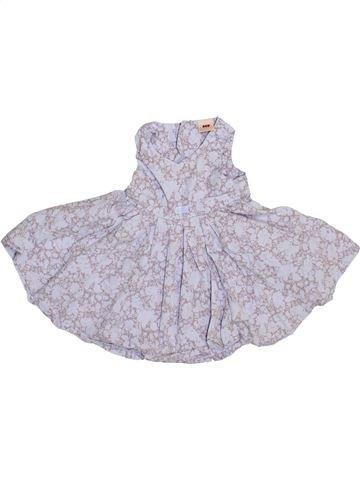 Vestido niña 3 POMMES violeta 6 meses verano #1348367_1