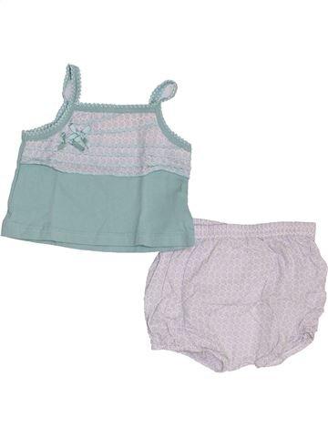 Conjunto niña GRAIN DE BLÉ gris 3 meses verano #1348472_1