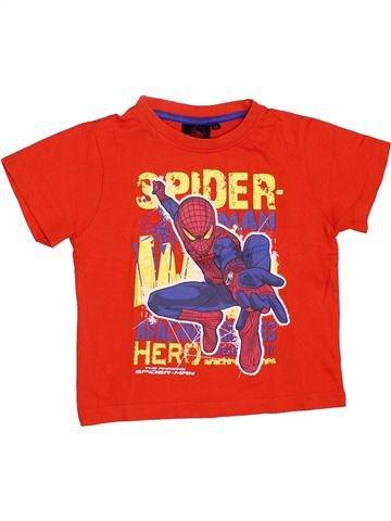 Camiseta de manga corta niño SUPERS HÉROS rojo 3 años verano #1348533_1