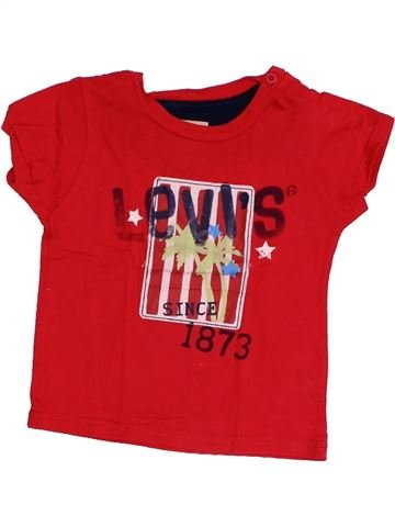 T-shirt manches courtes garçon LEVI'S rouge 18 mois été #1349484_1