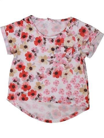 T-shirt manches courtes fille MISS E-VIE rose 7 ans été #1349509_1