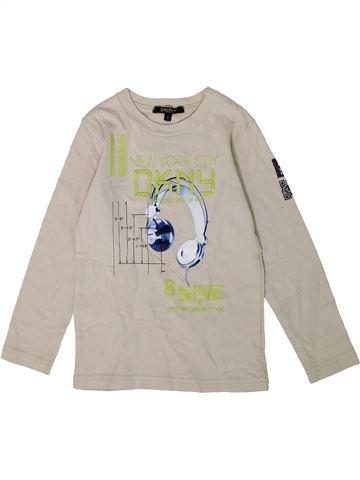 T-shirt manches longues garçon DKNY gris 5 ans hiver #1349587_1