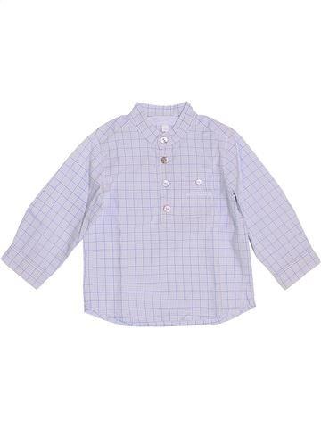 Camisa de manga larga niño TARTINE ET CHOCOLAT blanco 12 meses invierno #1349904_1