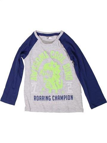 T-shirt manches longues garçon PEP&CO bleu 2 ans hiver #1349948_1
